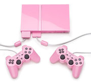Pink Playstation 2 + Games