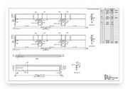 Steel Shop Drawings / Steel Detailing / Fabrication Drawings Services