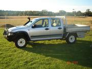 holden rodeo Holden Rodeo 2007 Twin Cab 4WD LX Tray Back Utilit