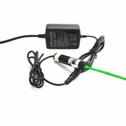 Glass Lens 10mW 515nm Green Dot Laser Module